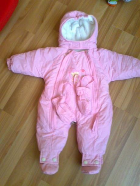 67284fac8144e Zimný overal, veľkosť 62 - 12,00 € | BabyBurza.sk