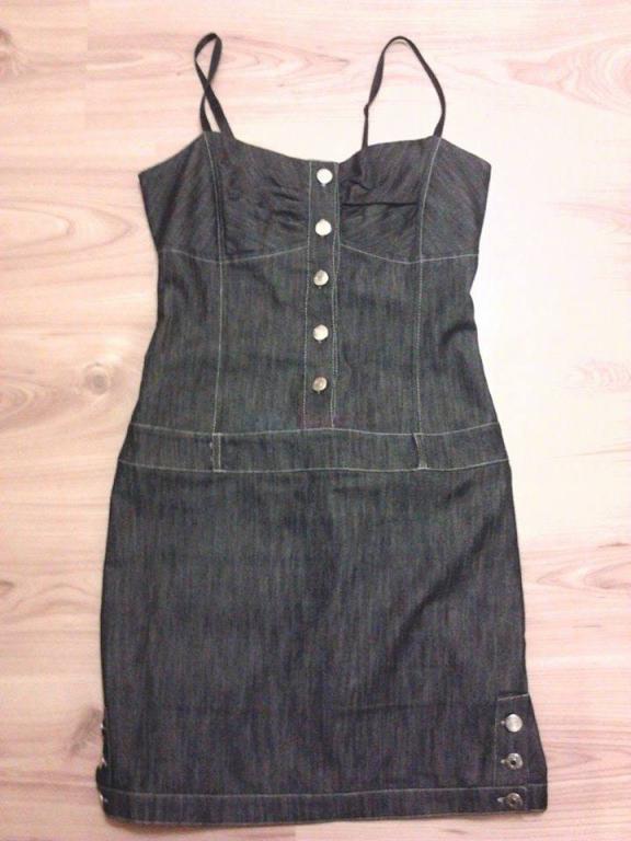 9229639010 Riflové šaty talianskej značky - 15