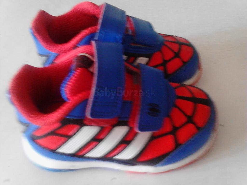 ... Predám tenisky (Disney Spiderman) Adidas ... 89d4fd7f314