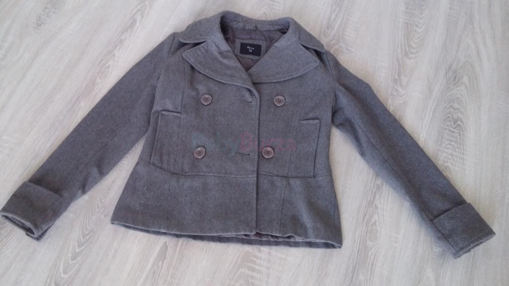 Predám jesenný dámsky kabát veľ. 38 - 9 9fdf9f1531c