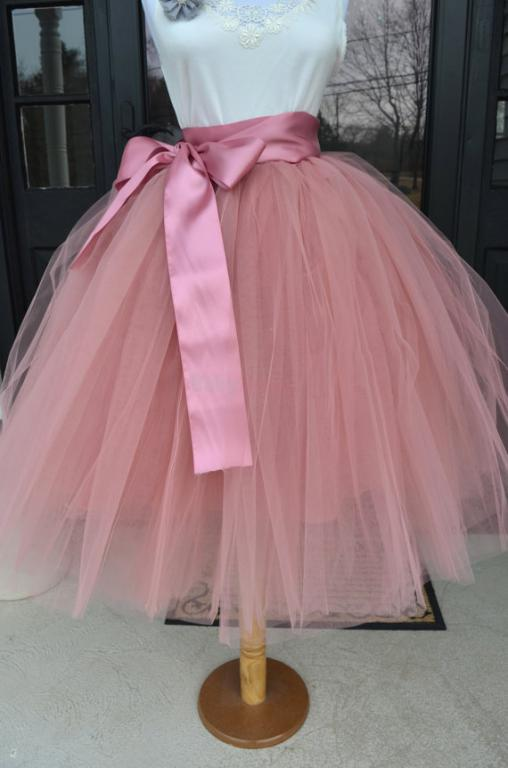 Luxusná tylová sukňa - 1 a5fcca51536