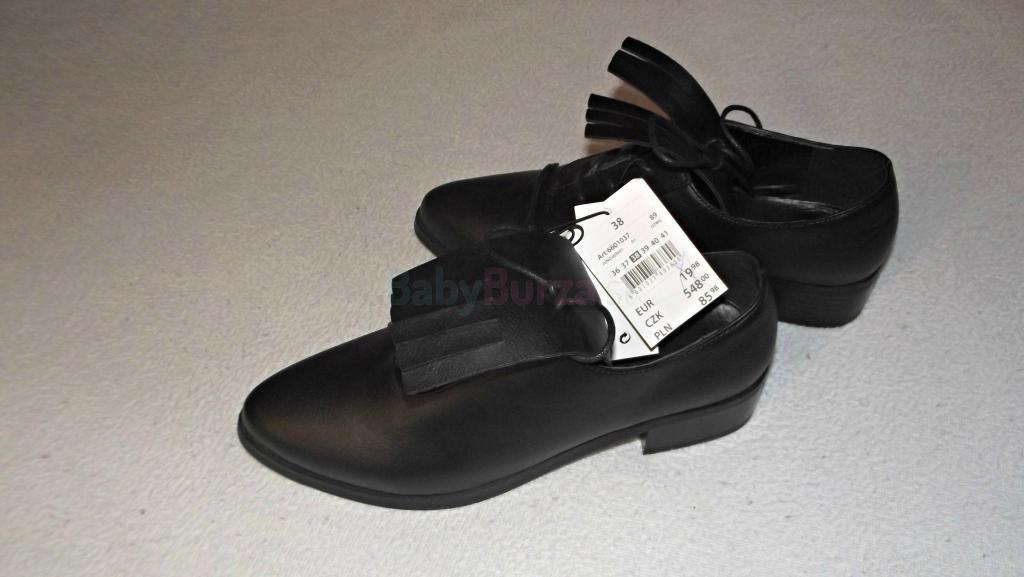 b733c75bba26a Dámske čierne topánky, veľ. 38 - 8,00 € | BabyBurza.sk