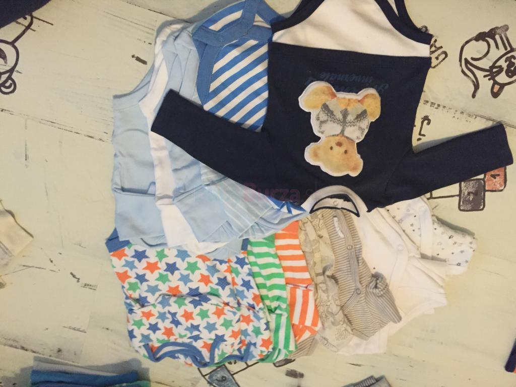 Komplet výbava oblečenia pre chlapca od 0-5m - Dohodou  11bbf29dcd4