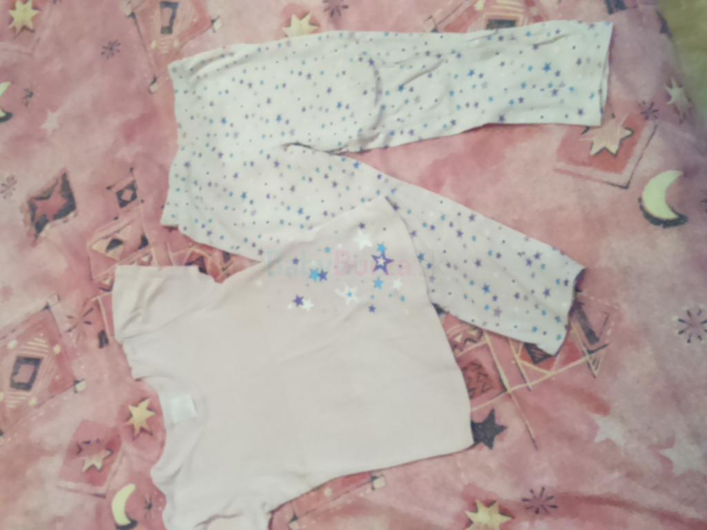 3f5dbaf25 Balík oblečenia - tričká, tielka, pyžamo pre dievčatko, veľ. 104-116 ...