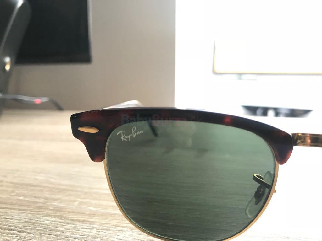 Slnečné okuliare Ray-Ban Clubmaster RB3016 W0366 - Dohodou ... 3b53376e42a