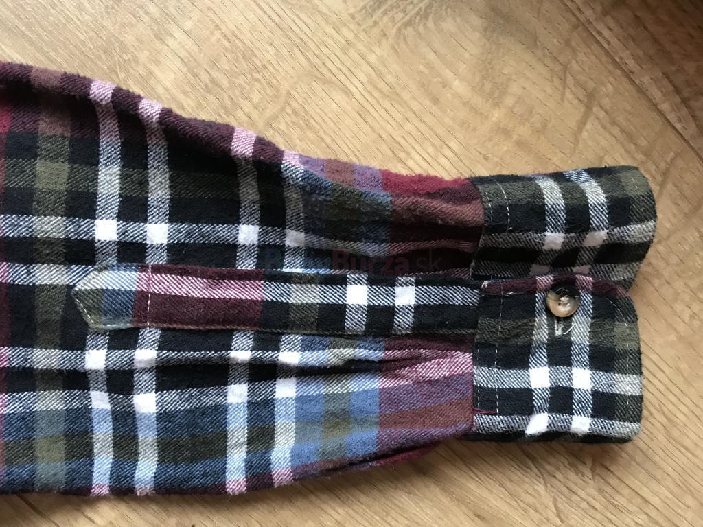 f8b18fc19a Hnedá károvaná košeľa - 5