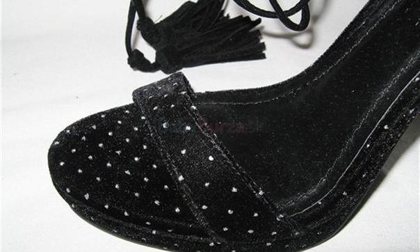 dbde543a8991 ... Čierne šnurovacie topánky Victorias Secret