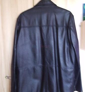 Pánska kožená bunda - 130 213195de4f9
