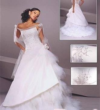 34f5bba4c970 Ponúkam veľmi pekné svadobné šaty. - 130
