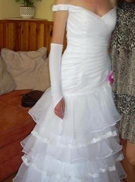 predám biele svadobné šaty 38 40 - 110 15b54800f08