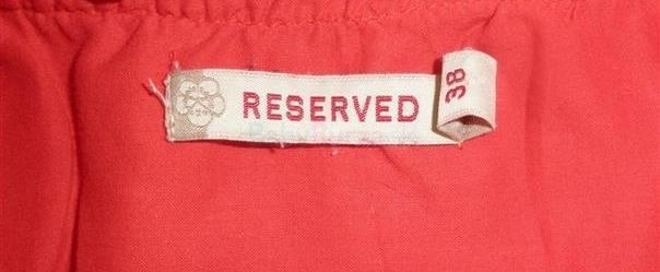 055b294d640c Červená blúzka zn. Reserved - 3