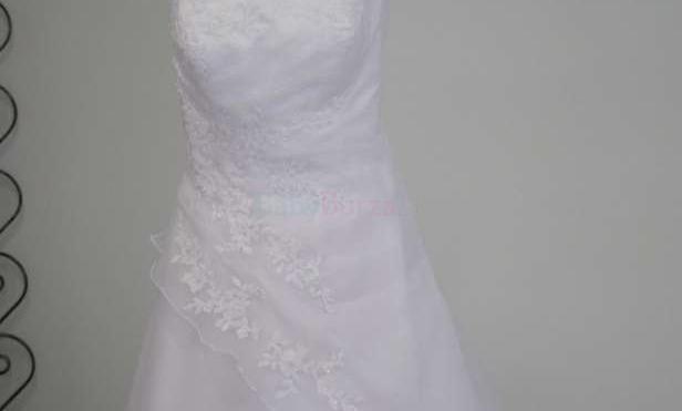 a7bf5dbf8151 Predám krásne svadobné šaty - 270