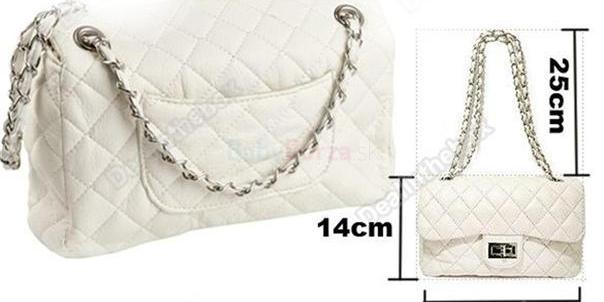 Predám úplne novú krásnu bielu kabelku na štýl Chanel s retiazkovým  ramienkom 212cba71730