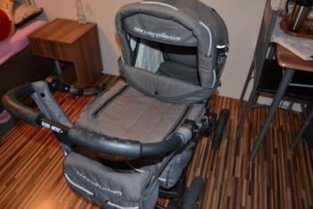 Trojkombinovaný kočík Baby Merc S6