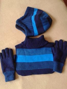 čiapka, šál, rukavice