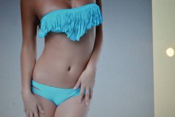 modré plavky
