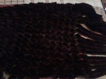 Teplý hnedý šál
