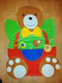Predám novú hraciu deku-Medvedík