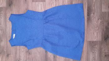 Modré šaty veľ. M