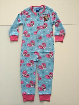 98/104-Detské overal pyžamko Frozen.