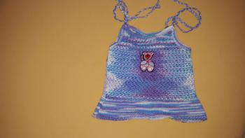 Pletené šatôčky na ramienka, v. 62
