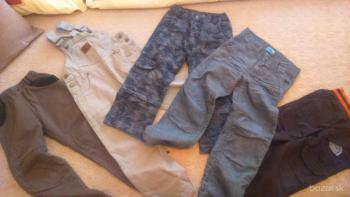 chlapčenské nohavice 110-122
