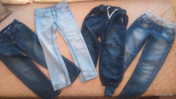 chlapčenské nohavice 122-134