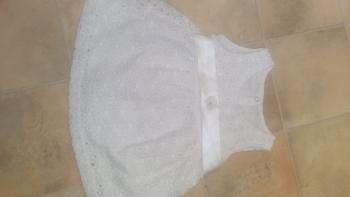Biele šaty aj na krst