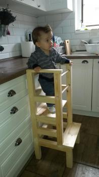 Predám - Učiaca veža - Montessori learning tower