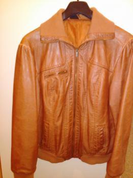 kožená bunda č. 42