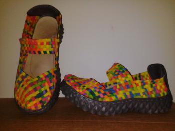 nenosené topánky č.36