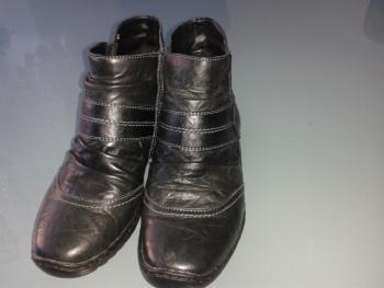 členkové teplé topánky č.36
