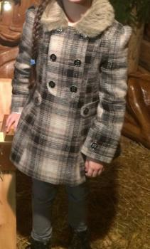 Jesenno-zimný kabátik