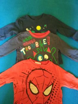 chlapčenské oblečenie 2-3 roky