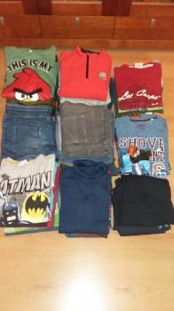 Chlapčenské oblečenie set, veľkosť 142/152