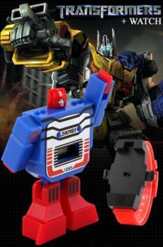 Transformers hodinky a hračka v jednom !