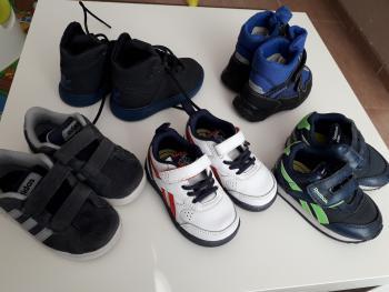 ADIDAS, REEBOK chlapcenska obuv