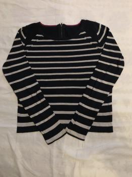 Pásikavý sveter