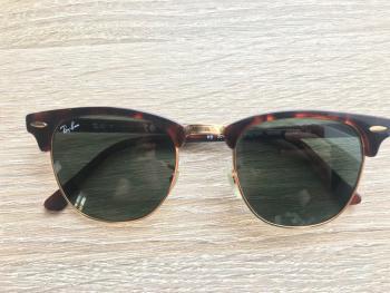 Slnečné okuliare Ray-Ban Clubmaster RB3016 W0366