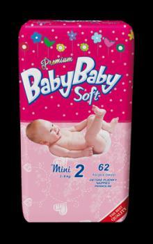 Detské plienky Baby Baby Soft Premium AKCIA !!!