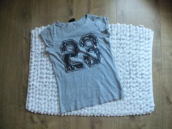 Sivé tričko