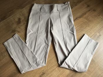 Maslové elegantné nohavice
