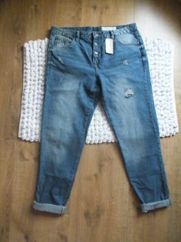 Boyfriend nohavice - nové s vysačkou