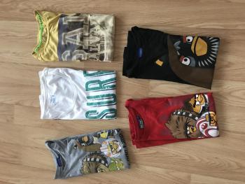 Balíček pánskych tričiek