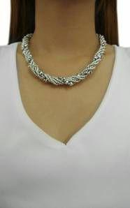 krištálový náhrdelník