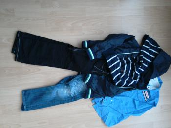 Značkové chlapčenské oblečenie 6/8rok.
