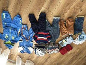 Balik zimneho oblecenia pre chlapca 3-6m