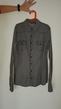 Riflová košeľa