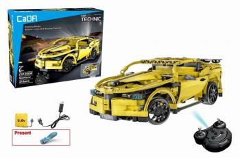 CADA TECHNIC RC SPORTSCAR – 452 kusov, žltý