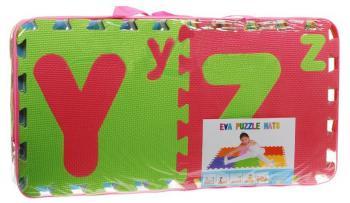 DORIS Detský penový koberec / puzzle - abeceda 26 ks